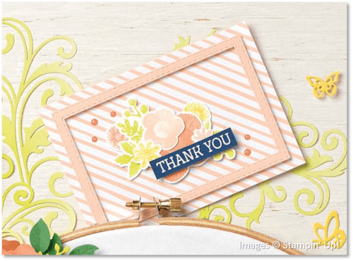 Needle & Thread Bundle, Rectangles Stitched Framelits Dies, Stampin' Up!