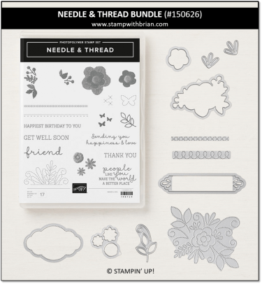 Needle & Thread Bundle, Stampin' Up! 150626
