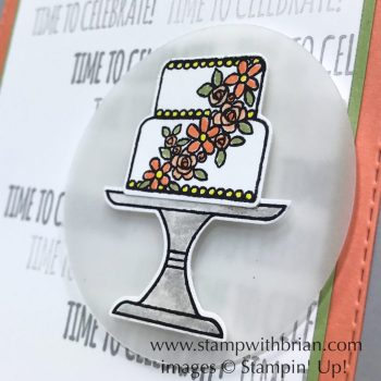 Piece of Cake Bundle, Itty Bitty Birthdays, Stampin' Up!, Brian King, birthday card