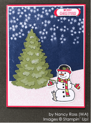 by Nancy Ross, Stampin' Up! One-by-One Holiday Card Swap