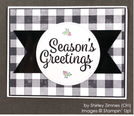 by Shirley Zimnes, Stampin' Up! One-by-One Holiday Card Swap