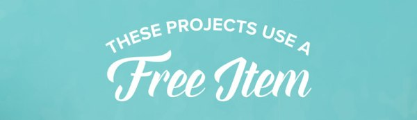 These Projects Use a Free Item
