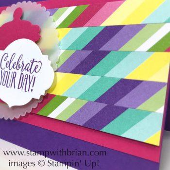 Hello Cupcake, Jar of Sweets Framelits Dies, How Sweet it Is Designer Series Paper, Stampin' Up!, Brian King