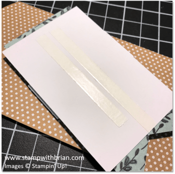Tear and Tape, Stampin' Up!, Brian King