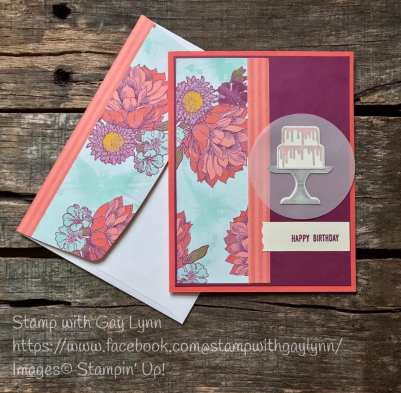 by Gay Lynn Morrison, Stampin' Up!