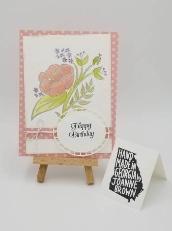 by Joanne Brown, Stampin' Up!