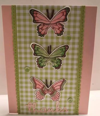 by Traci Davis, Stampin' Up!