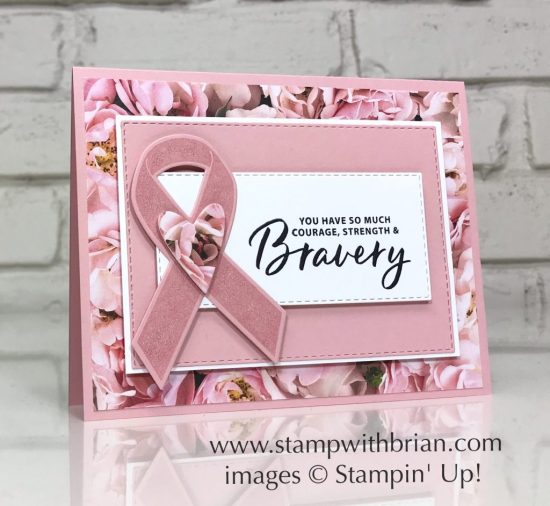 More Than Words, Ribbon of Courage, Stampin' Up!, Brian King