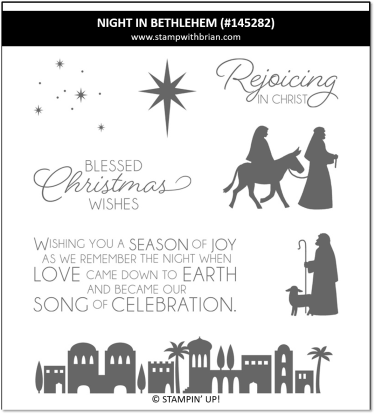 Night in Bethlehem, Stampin' Up! 145282