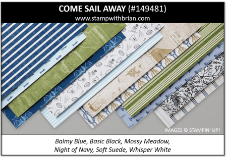 Come Sail Away, Stampin' Up! 149481
