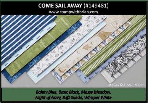 Come Sail Away, Stampin' Up! 149481
