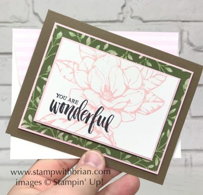Good Morning Magnolia, Rooted in Nature, Stampin' Up!, Brian King, Mother's Day Card