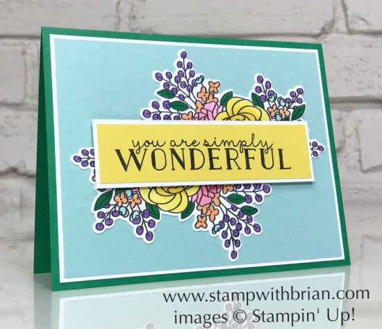 Bloom & Grow Bundle, Stampin' Up!, Brian King