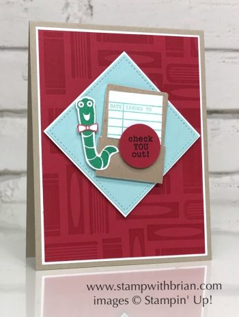 Check You Out, Stampin' Up!, Brian King