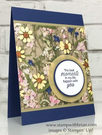 Daisy Lane, Pressed Petals Specialty Designer Series Paper, Stampin' Up!, Brian King