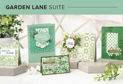 Garden Lane Suite, 101004, Stampin' Up! 2019 Annual Catalog