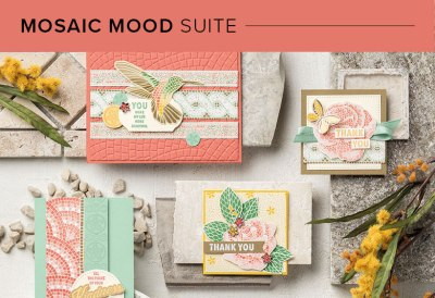 Mosaic Mood Suite, 101010, Stampin' Up! 2019 Annual Catalog