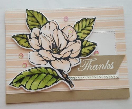 by Pam Simmons, Good Morning Magnolia, Stampin' Up!, CASE the 2019 Annual Catalog