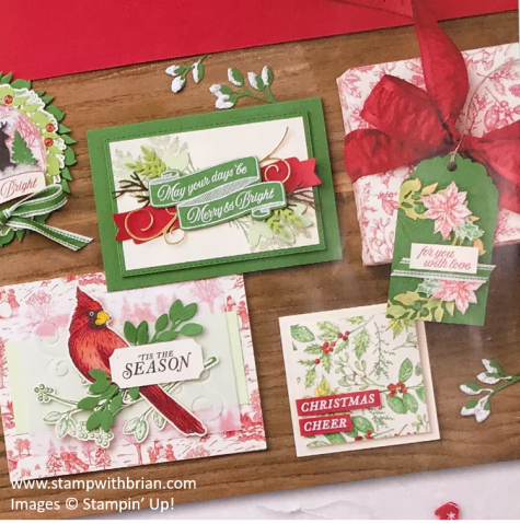 Stampin' Up!'s 2019 Holiday Catalog, Brian King
