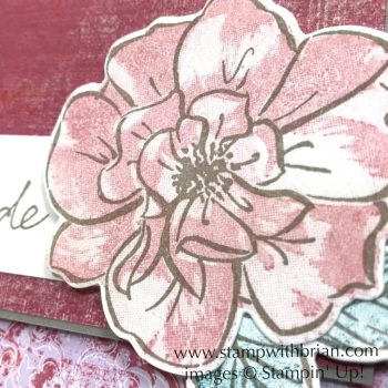 To a Wild Rose Bundle, Seaside Notions, Woven Threads Designer Series Paper, Stampin' Up!, Brian King