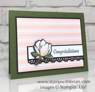 Here's a Card, Magnolia Lane Designer Series Paper, Stampin' Up!, Brian King
