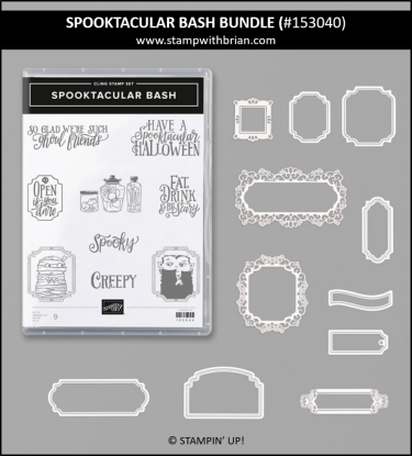 Spooktacular Bash Bundle, Stampin' Up! 153040
