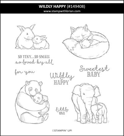 Wildly Happy, Stampin' Up! 149408