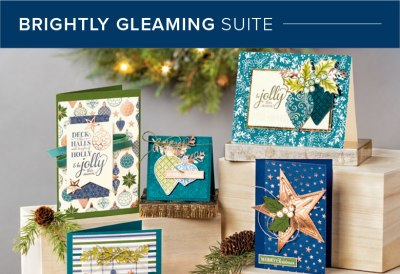 Brightly Gleaming Suite, Stampin' Up! 101017