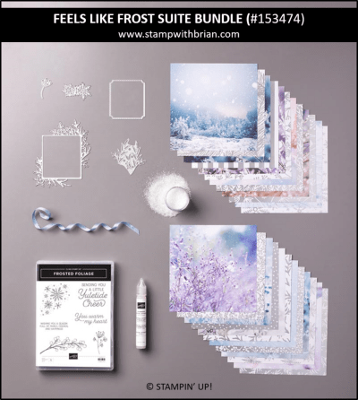 Feels Like Frost Suite Bundle, Stampin' Up! 153474