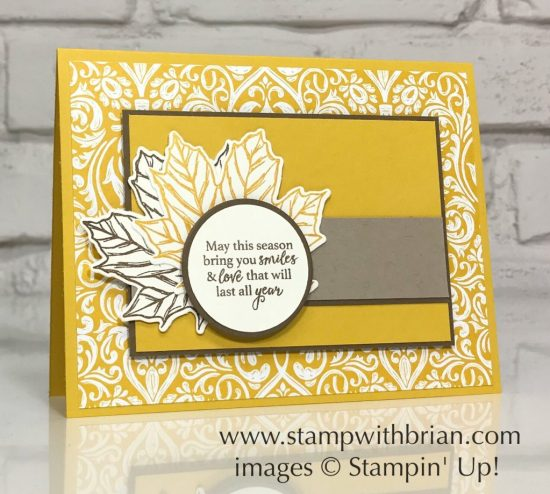 Gather Together Bundle, Monster Bash Designer Series Paper, Stampin' Up!, Brian King