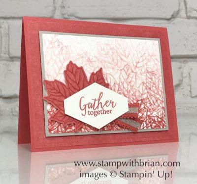 Gather Together Bundle, Thanksgiving Card, Stampin' Up!, Brian King