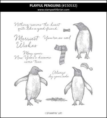 Playful Penguins, Stampin' Up! 150532