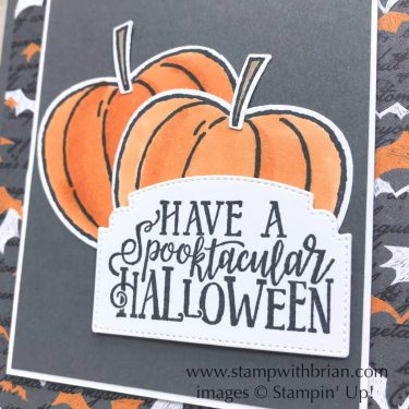 Spooktacular Bash Bundle, Hello Harvest Bundle, Stampin' Up!, Brian King