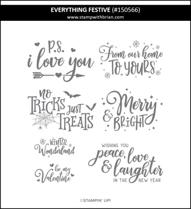 Everything Festive, Stampin' Up! 150566