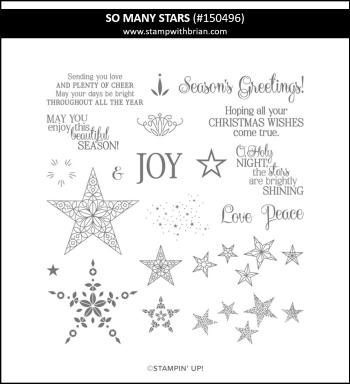 So Many Stars, Stampin' Up! 150496