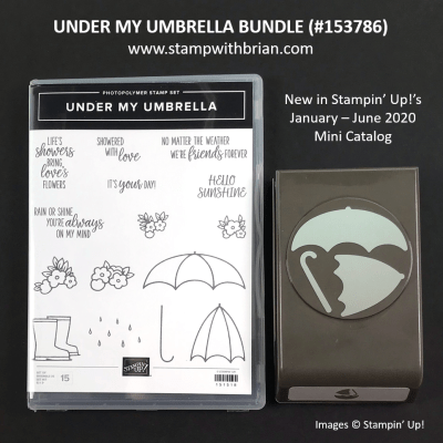 Under My Umbrella Bundle, Stampin' Up! 153786