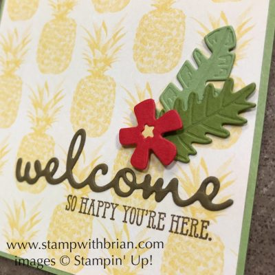 Well Said, In the Tropics Dies, Stampin' Up!, Brian King