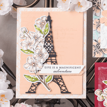 Parisian Beauty, Forever Blossoms, Stampin Up!