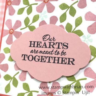 Thoughtful Blooms, Heart to Heart, Stampin Up!, Brian King
