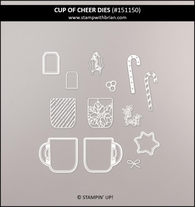 Cup of Cheer Dies, Stampin Up!, 151150