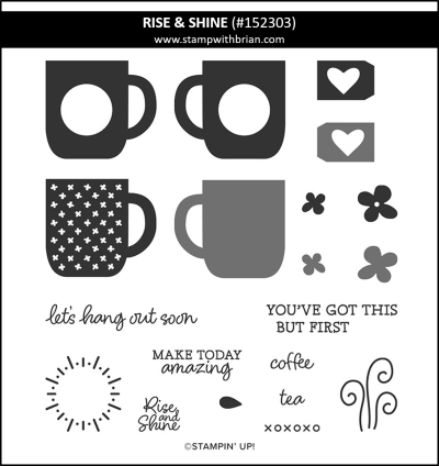 Rise & Shine,Rise & Shine, Stampin Up!, 152303