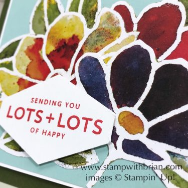 See a Silhouette, Lots of Happy Card Kit, Stampin Up!, Brian King