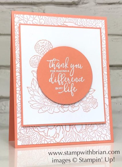 Accented Blooms, By the Dock, Breathtaking Bouquet, Stampin Up!, Brian King