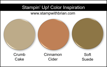 Cinnamon Cider Color Comparisons, Stampin Up!