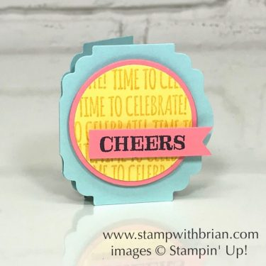 Itty Bitty Birthdays and Label Punch, Stampin Up!, Brian King