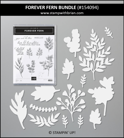 Forever Fern Bundle, Stampin Up! 154094