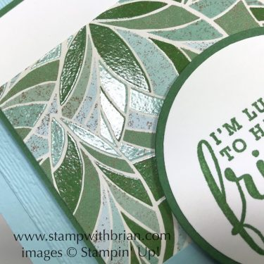 Mosaic Mood Specialty Designer Series Paper, Stampin' Up!, Brian King