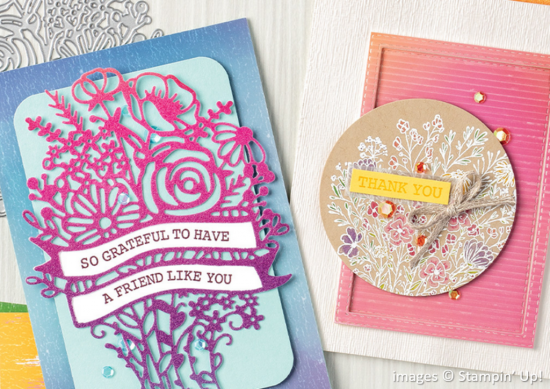 Artistry Blooms Suite Collection, Stampin Up!, Brian King