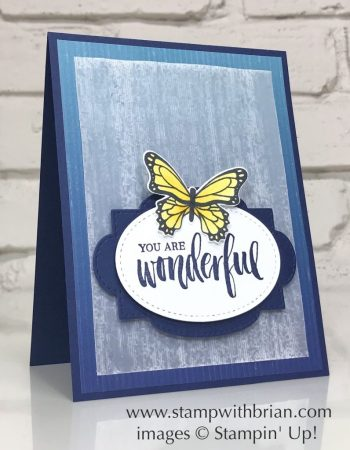 Rooted in Nature, Butterfly Gala, Stampin Up!, Brian King