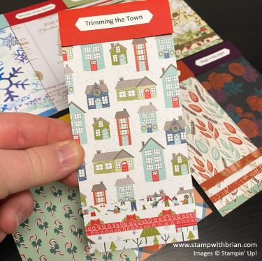 August - December 2020 Mini Catalog Swatch Books, Stampin Up!, Brian King 1